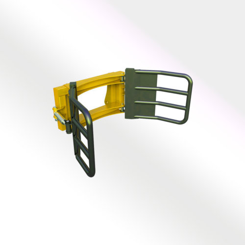 Packaged Cylindrical Bale Attachment